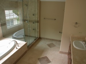 Master Bathroom Glencoe